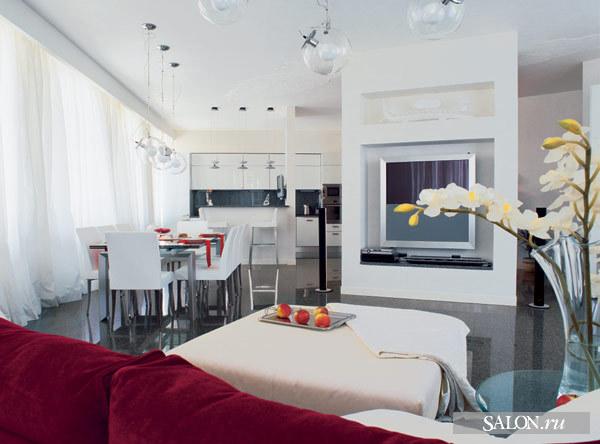 """div align=""""center""""Ремонт кухни столовой фото."""